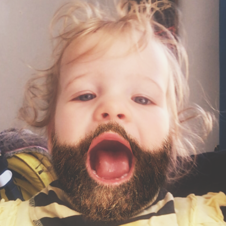 #thebeardedbaby #baby #parenting #mumblog #mblogger